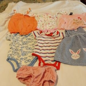 Baby clothes size 12 months